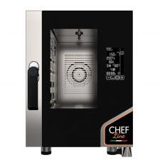 Four Électrique Professionnel Pour Restaurant Numérique 6 Plaques CHF623DGT-COMPACT