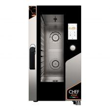 Four Électrique Professionnel Pour Restaurant Tactile 10 Plaques CHF1011TOP-COMPACT