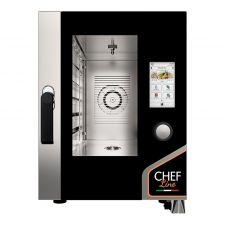 Four Électrique Professionnel Pour Restaurant Tactile 6 Plaques CHF611TOP-COMPACT