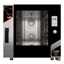 Four Électrique Professionnel Pour Restaurant Contrôle Tactile 6 Plaques CHF621TOP
