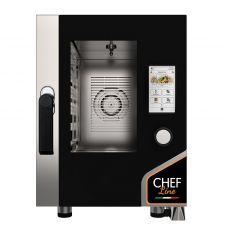 Four Électrique Professionnel Pour Restaurant Tactile 6 Plaques CHF623TOP-COMPACT