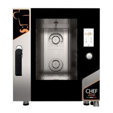 Four Électrique Professionnel Pour Restaurant Contrôle Tactile 7 Plaques CHF711TOP