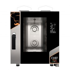 Commercial Digital Gas Oven For Restaurant 7 1/1 Gn