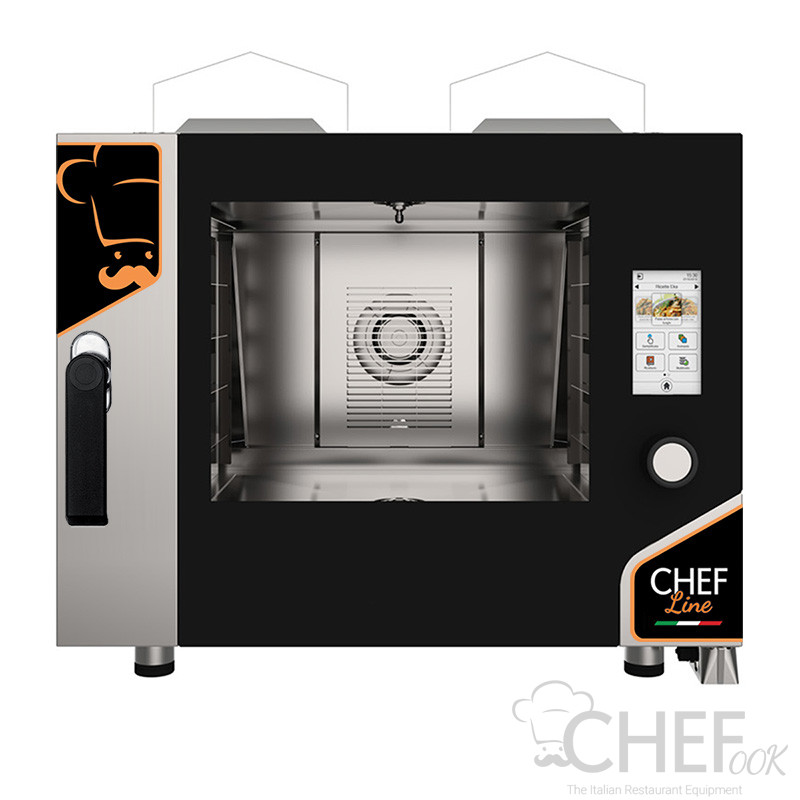 Touch Screen Electric Pastry Combi Oven CHF464TOP-GAS