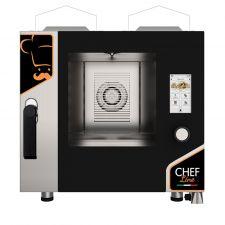 Four à Gaz Professionnel Pour Restaurant Contrôle Tactile 5 Plaques CHF511TOP-GAS