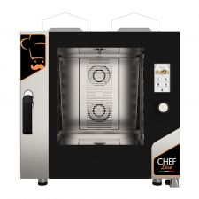 Touch Screen Gas Convection Oven For Restaurant CHF621TOP-GAS