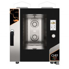 Touch Screen Gas Convection Oven For Restaurant CHF711TOP-GAS