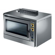 Commercial Gas Bakery Convection Oven 4  Trays 60 x 40 cm With Humidification