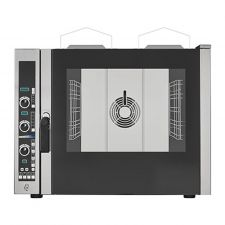 Commercial Gas Convection Oven 5 GN 1/1 Trays (53x32,5 cm) - Direct Steam - Digital