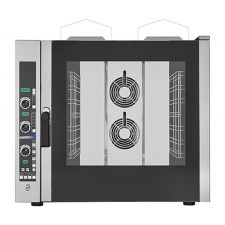 Commercial Gas Convection Oven 7 GN 1/1 Trays (53x32,5 cm) - Direct Steam - Digital