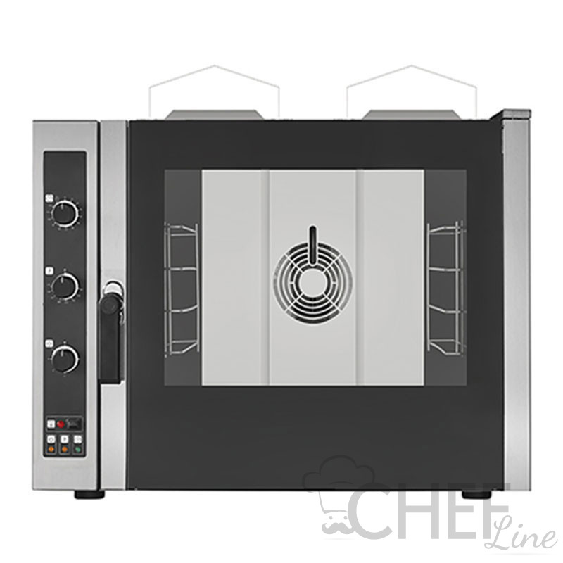 Commercial Gas Steam Convection Oven For Bakery 4 Trays (60 x 40 cm) - Manual