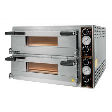 Commercial Electric Double Pizza Oven Eko Baby  50-cm-Diameter by Chefook
