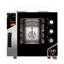 Commercial Manual Gas Oven For Restaurant 5 1/1 Gn trays