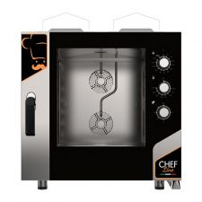 Commercial Gas Pastry Combi Oven CHF664MCN-GAS