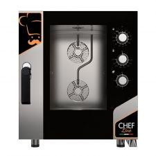 Four Électrique Professionnel Pour Restaurant Mécanique 7 Plaques CHF711MCN