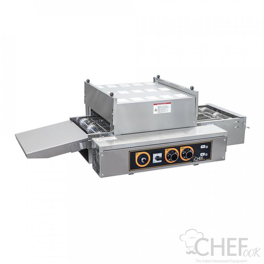 Static Commercial Conveyor Pizza Oven 30 x 33cm Diameter Pizzas