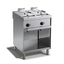 CHEFOOK Commercial Electric Fryer 9 + 9 Lt, 70 Cm Depth * Best Price*