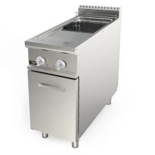 Image Electronic Floor Commercial Electric Fryer 21 Lt (4,6 UKgal) Capacity 90 Cm (35,4 In) Depth