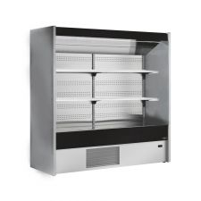 Multideck Fridge Cold Cuts, Beverages and Dairy Products Chioggia With Mirror +3°C/+6°C Depth 75 cm CHEFOOK