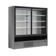 Multideck Fridge Cold Cuts, Beverages and Dairy Products Olbia With Sliding Doors +2°C/+6°C CHEFOOK