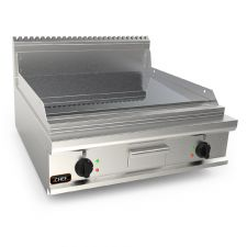 Countertop Commercial Electric Griddle With Smooth Chromed Double Plate - 90 cm 20EX9FL8B-2-CR