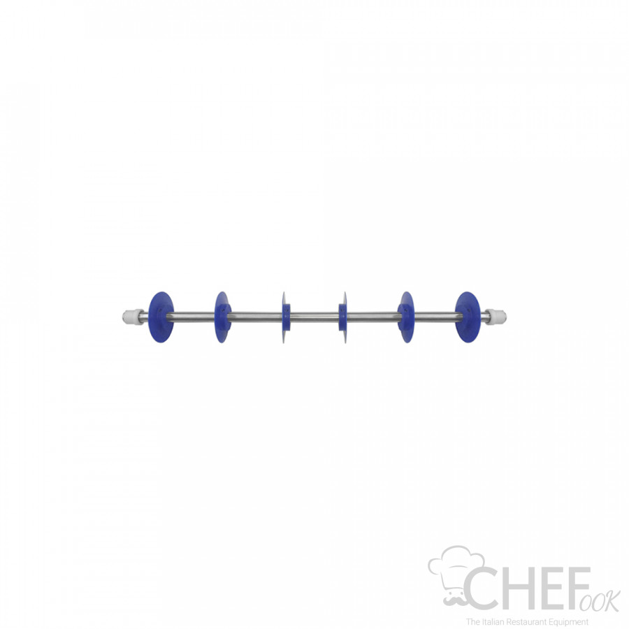 Length Cutting Roller With 6 Acetal Polymer Resin Discs chefook