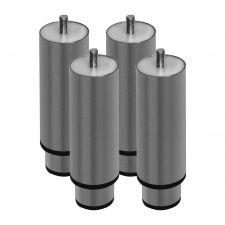 4 Stainless Steel Feet 12-19 Cm Kit