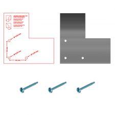 Set Für Türschlagwechsel bei Kühlschränke 700-1400 AF