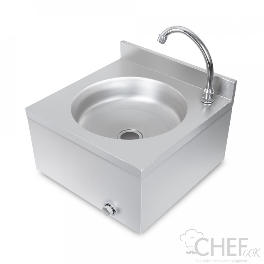 Commercial Stainless Steel Hand Wash Sink With Knee Control - Eko Line
