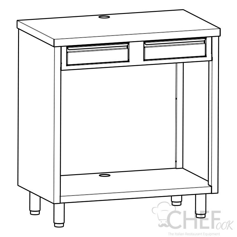 Coffee Machine Counter Depth 60 cm