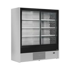 Multideck Fridge With Sliding Doors Cold Cuts, Beverages, Dairy Products +2°C/+6°C Depth 71 cm chefook