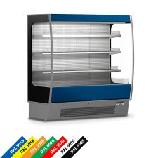 Multideck Display Fridge Lido For Cured Meat And Dairy Products
