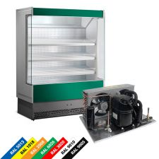 Multideck Display Fridge For Fruit And Veg with Remote Motor