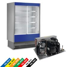 Kühlregal Vulcano Wurstware Milchprodukte VS80000SLSG