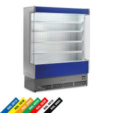 Multideck Display Fridge For Cured Meat, And Dairy Products