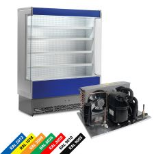 Multideck Display Fridge For Cured Meat And Dairy Products