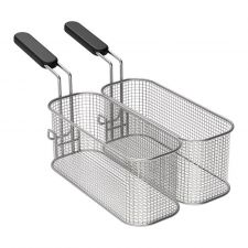 Pair Of 1/2 Baskets For Gas Fryer 10 Liters Best Prices CHEFOOK