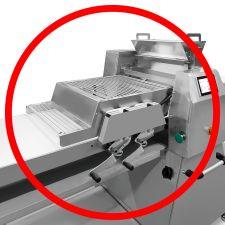 Schneidestation für Band-Teigausrollmaschine chefook