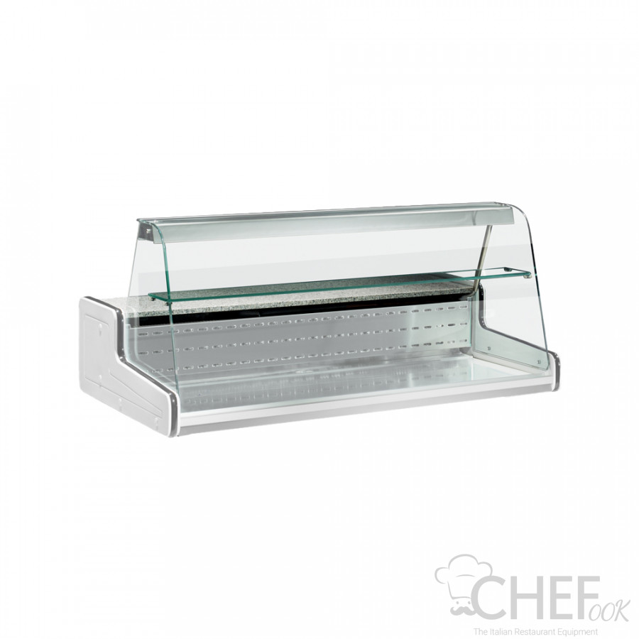Surcharge For Intermediate Glass Shelf For Countertop Display Verona chefook