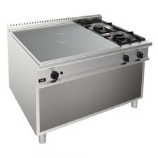 2-Burner + Gas Stove Solid Top Hob 90 Cm/35,4 In Depth