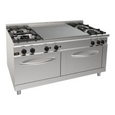Commercial Gas Stove With Solid Top Gas Hob 20GX9TP4FM+FG