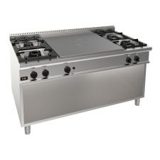 4-Burner + Gas Stove Solid Top Hob 90 Cm/35,4 In Depth