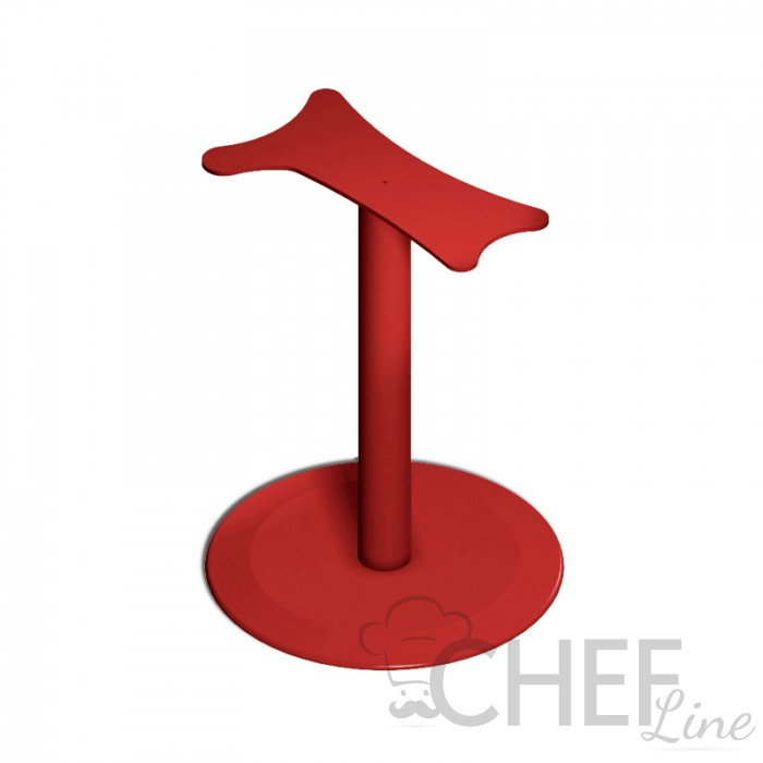 Red Pedestal Manual Slicer