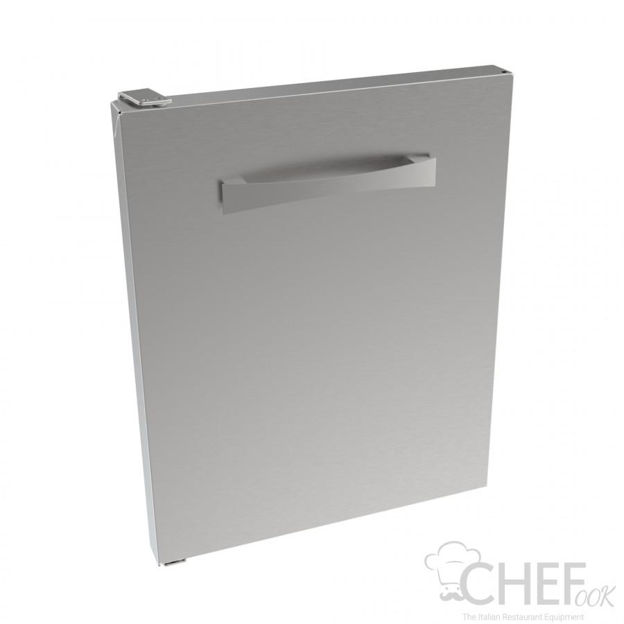CHEFOOK 40 cm Stainless-Steel Left Door