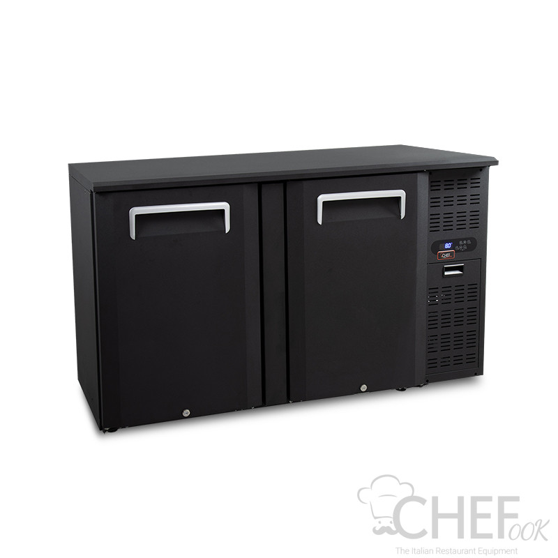 Built-In/Counter Top Drinks Fridge 315 Litres +2°C/+8°C Hinged Doors
