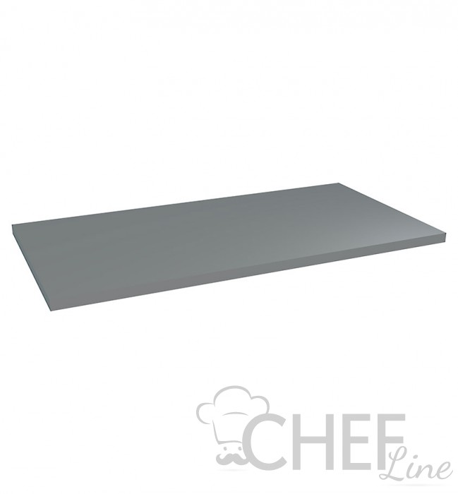 88 x 49 Cm White Painted Shelf For Cold Room