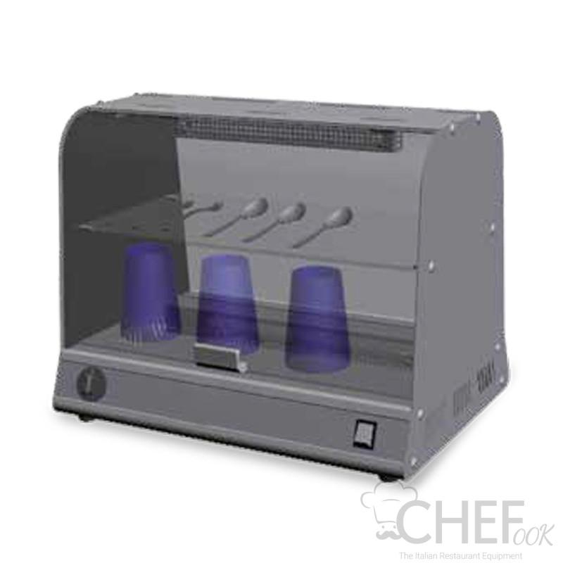 Horizontal UV Sterilizer With Shelves