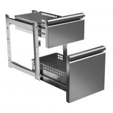 Image Supplement 2 Drawers 1/3 and 2/3 For Refrigerated Tables