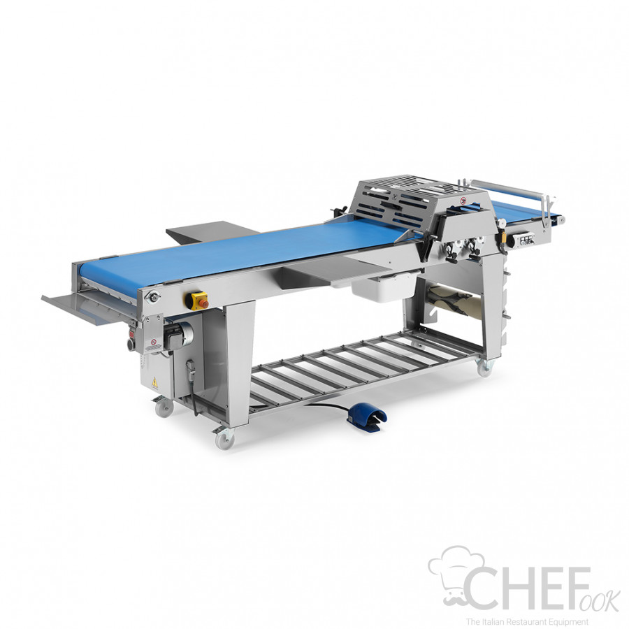 Dough Cutting Table With Belt Conveyor Depth 60 cm chefook
