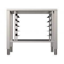 Tisch Aus Stahl AISI 430 + Stützen Für Backöfen 6 - 10 Bleche 2/1 GN